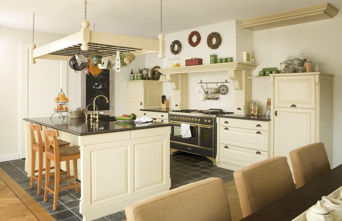 Stoere Keuken Wood : Stoere landelijke keuken vervaardigd uit naturel eiken met groot