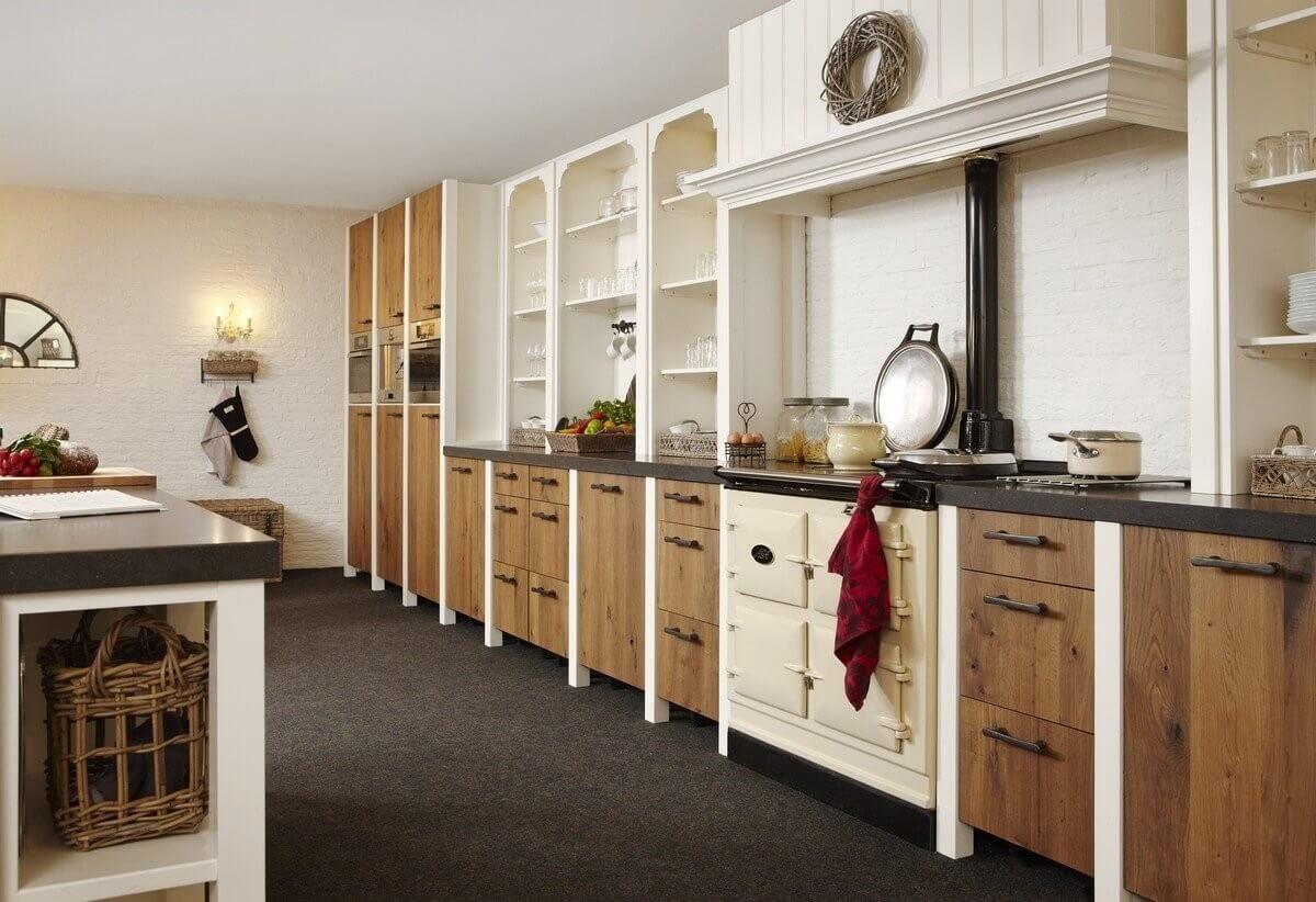 Handgemaakte Keukens Friesland : Landelijke keukens gerard hempen handgemaakte keukens van hout