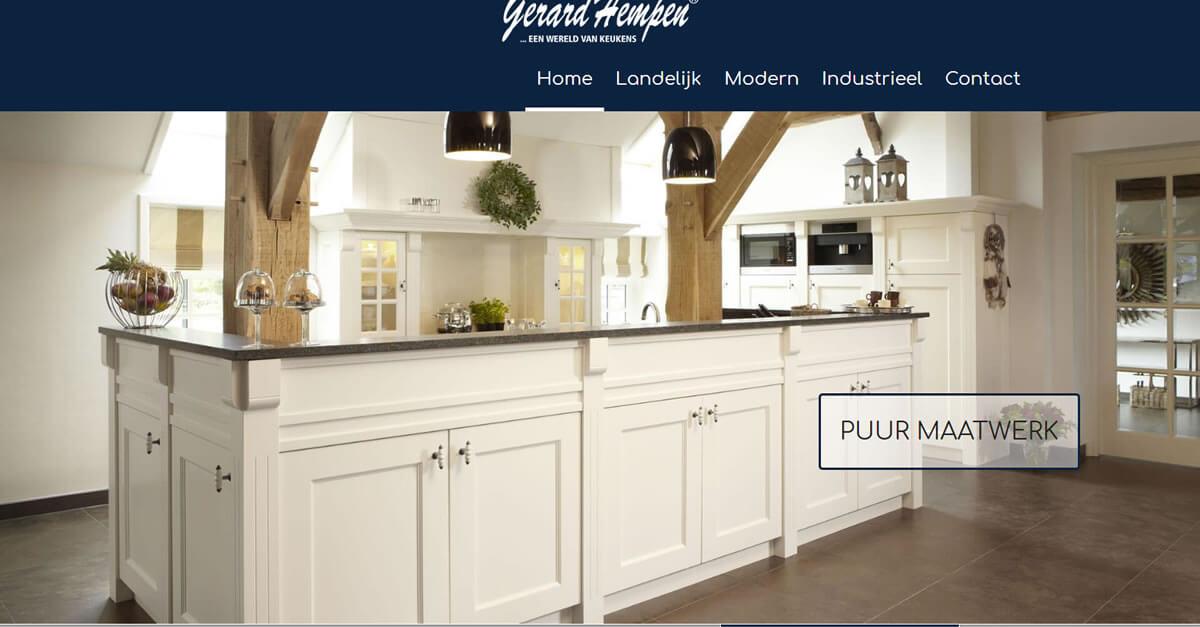 Handgemaakte Keukens Friesland : Gerard hempen handgemaakte keukens van hout